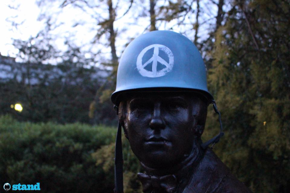 Charles Darwin at Cambridge University here models our #KeepThePeace Blue Helmet