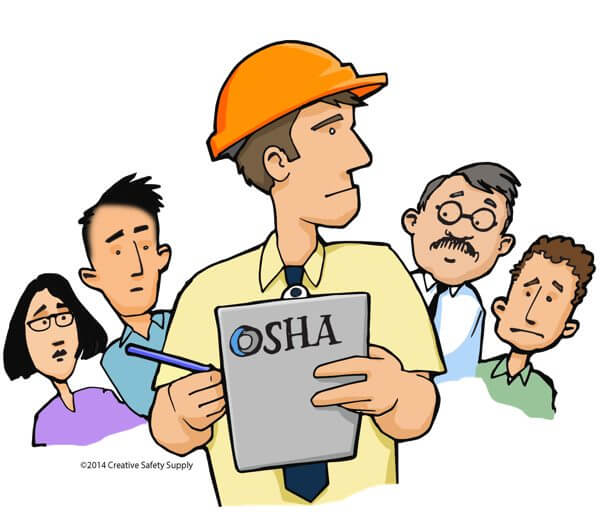 This is a very adorable imagining of what an OSHA employee might look like.