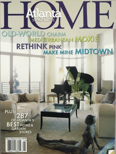 Bill Lowe Gallery Atlanta Homes Magazine Cover