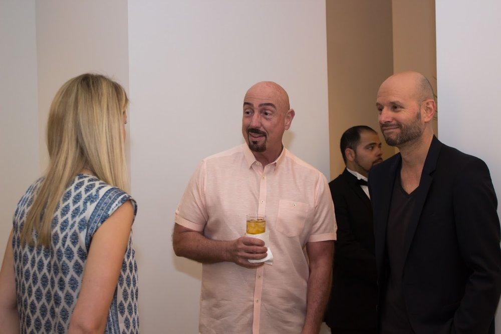 Bill Lowe Gallery Reiner Heidorn Opening 4.jpg