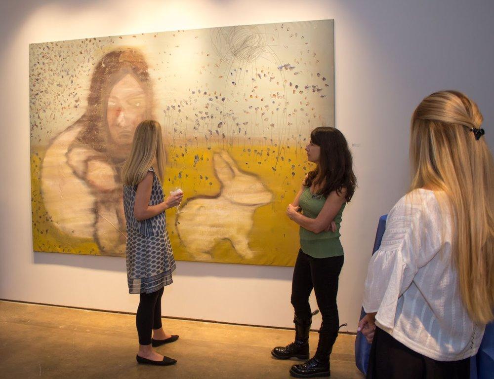 Bill Lowe Gallery Reiner Heidorn Opening 11.jpg