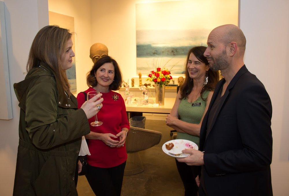 Bill Lowe Gallery Reiner Heidorn Opening 15.jpg