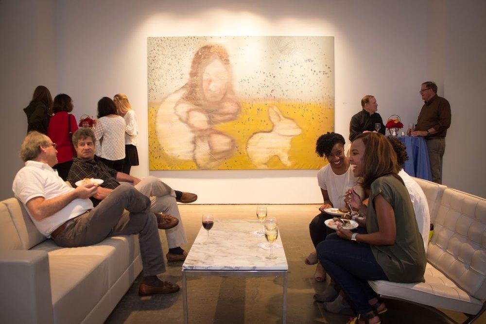 Bill Lowe Gallery Reiner Heidorn Opening 21.jpg