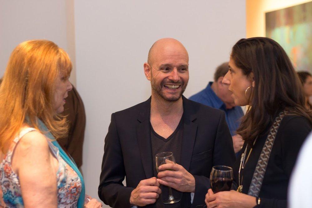 Bill Lowe Gallery Reiner Heidorn Opening 29.jpg