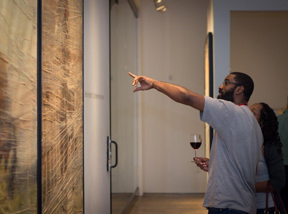 Bill Lowe Gallery Reiner Heidorn Opening 32.jpg