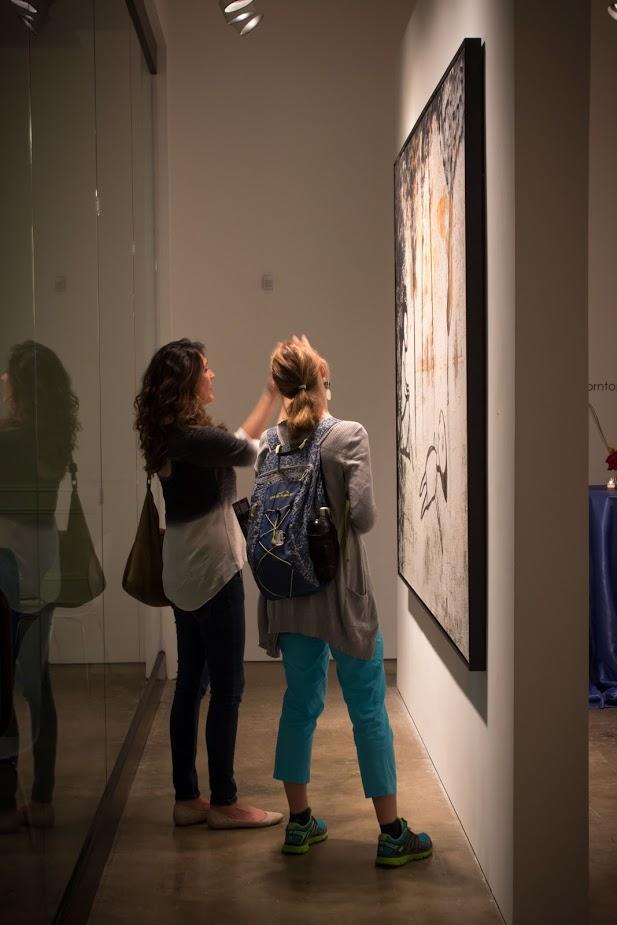 Bill Lowe Gallery Reiner Heidorn Opening 44.jpg