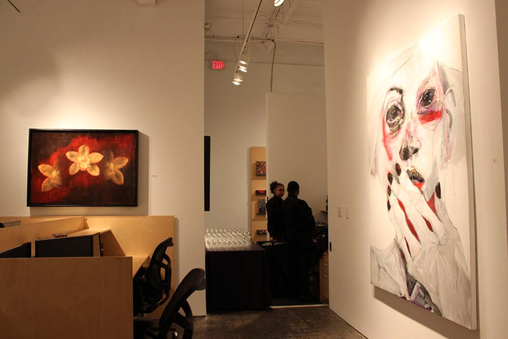 Bill Lowe Gallery Fernando Gaspar & Maggie Hasbrouck Opening Reception 25.jpg