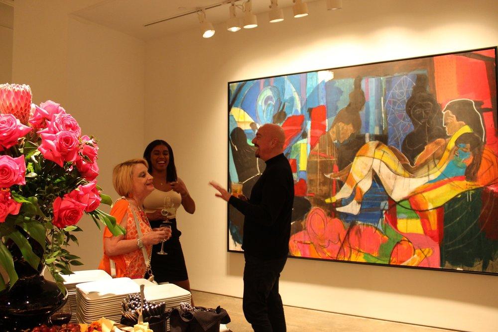 Frank Schroeder Bill Lowe Gallery Opening 5.JPG