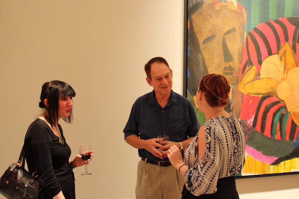 Frank Schroeder Bill Lowe Gallery Opening 9.JPG