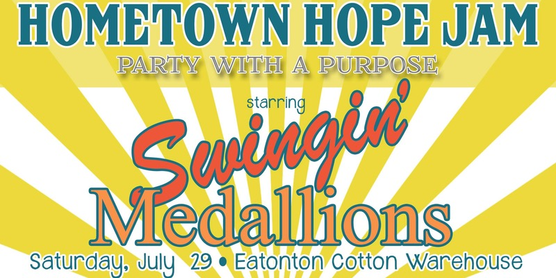 Swingin' Medallions live at the Eatonton Cotton Warehouse