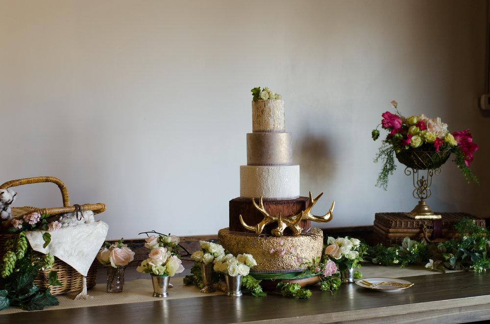 Eatonton Cotton Wedding Cake