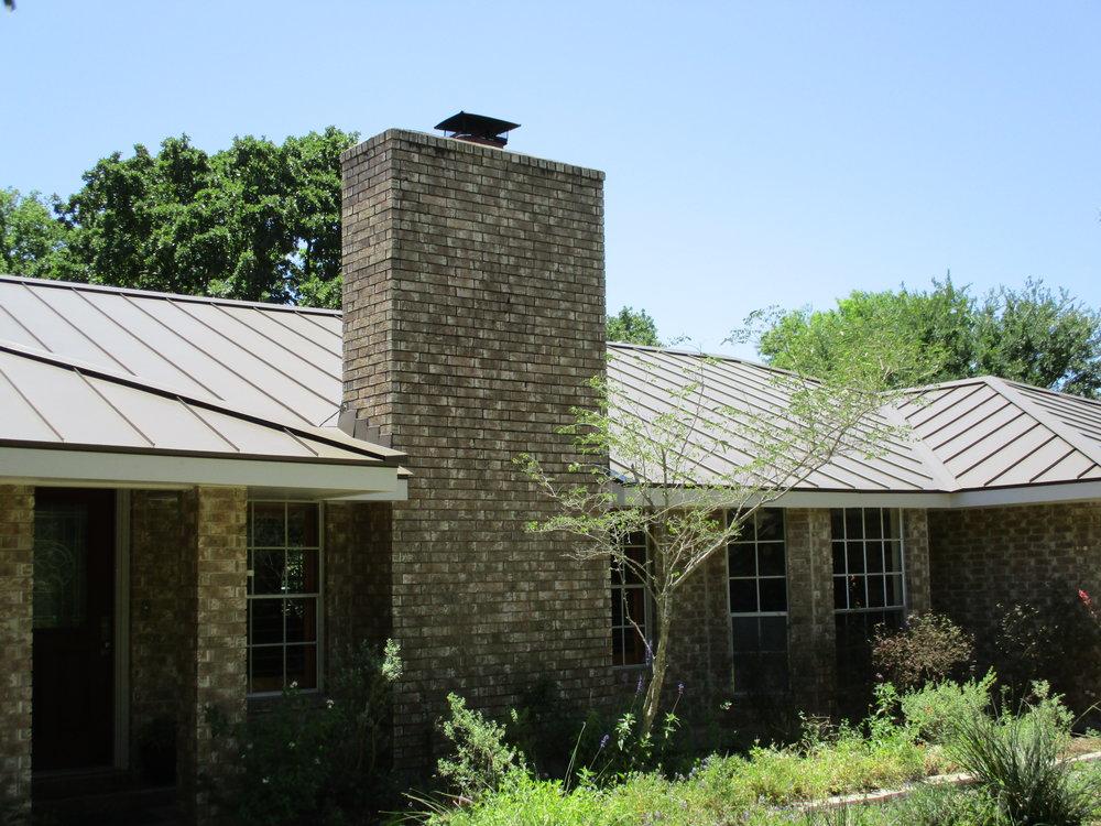Metal Roof - Brown Color.JPG