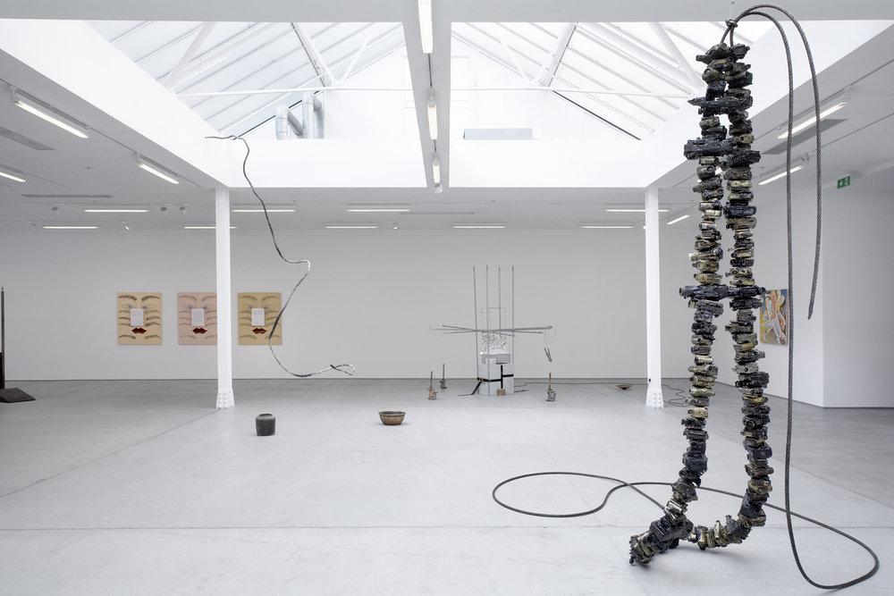 'Zhongguo' (2017) Exhibition Shot. Sadie Coles Gallery, London.