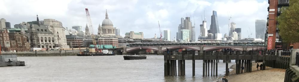 Ally McGinn (2017) Thames view, London.
