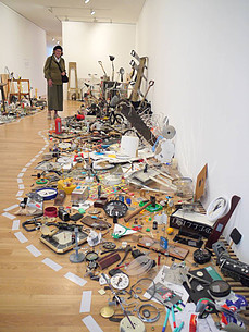 Tomoko Takahashi (1998-2010) Introspective Retrospective Installation detail.