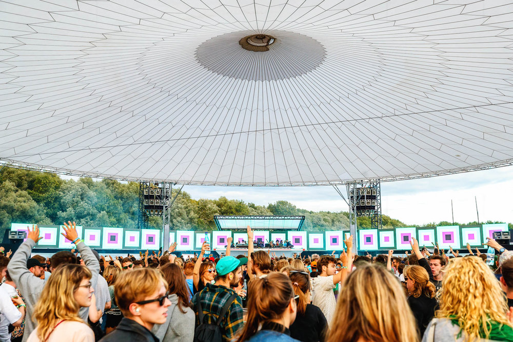 Dekmantel Festival 2017 at the Amsterdamse Bos.