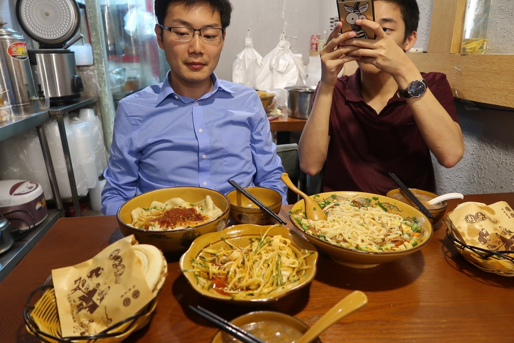 This meal was probably one of the better dinners I had in Shanghai - reminded me of homemade-styled dishes.