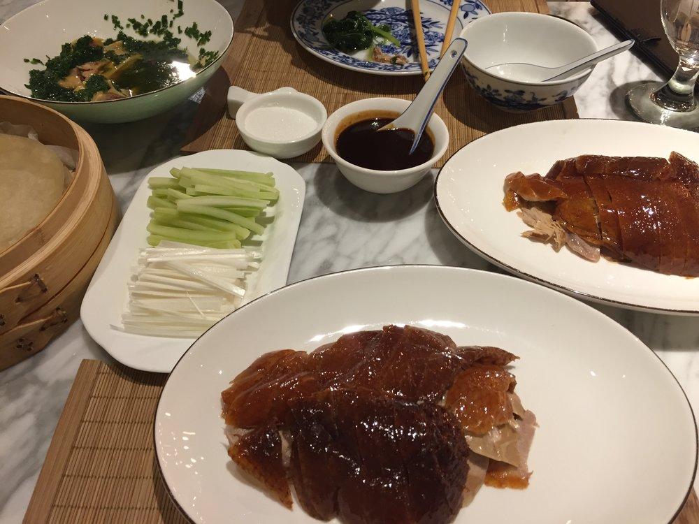 Dinner at mall near Qibao station.