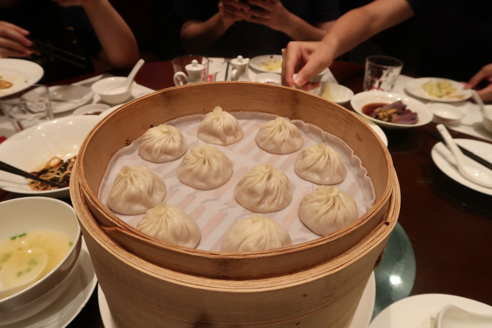 Group dinner at Din Tai Fung - wish we had gotten more Xiao Long Bao!