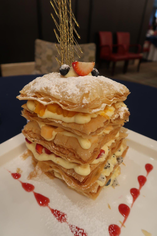 Napoleon dessert from Jade Garden.