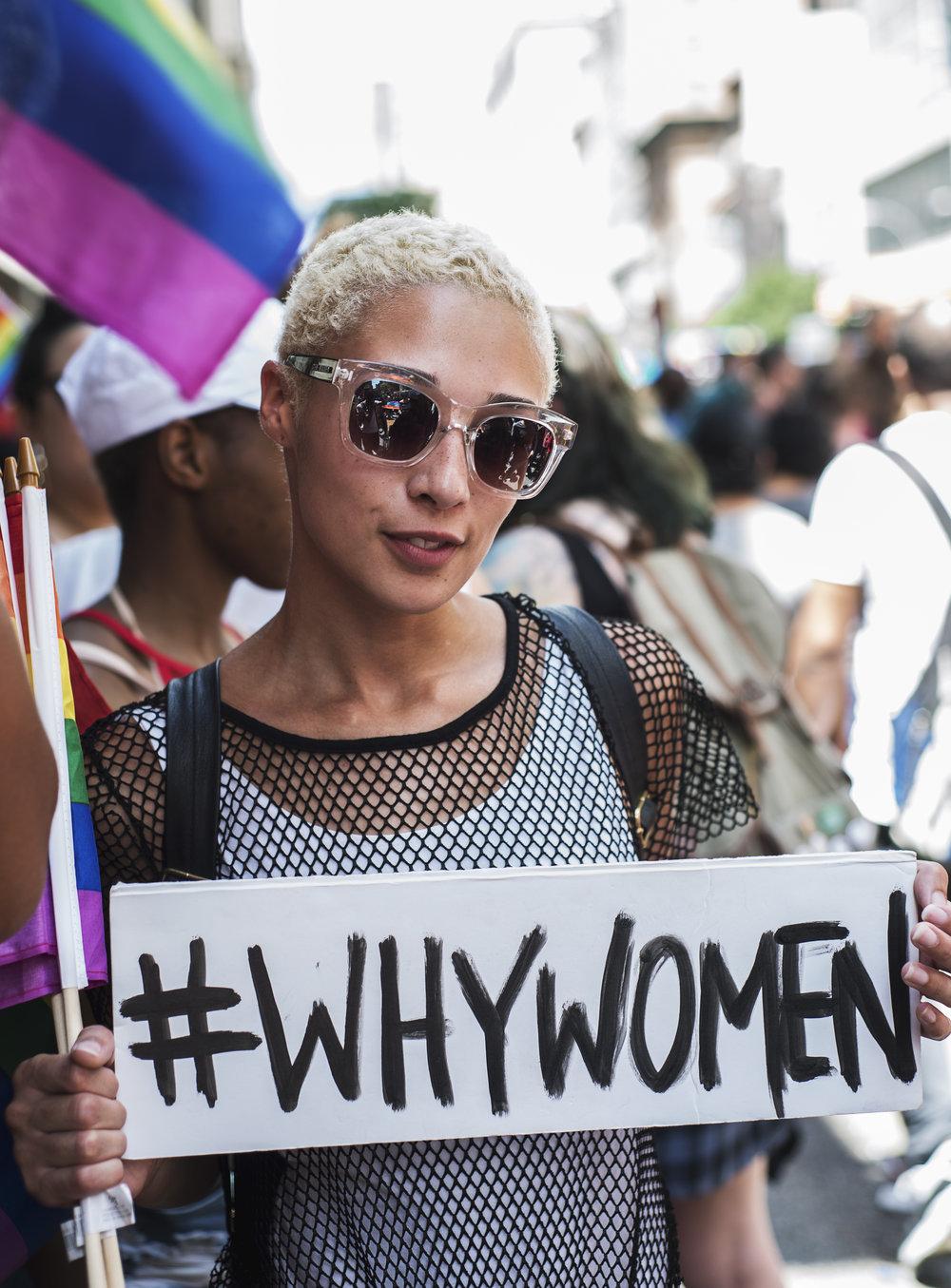 Amber Davis, 23, bisexual -