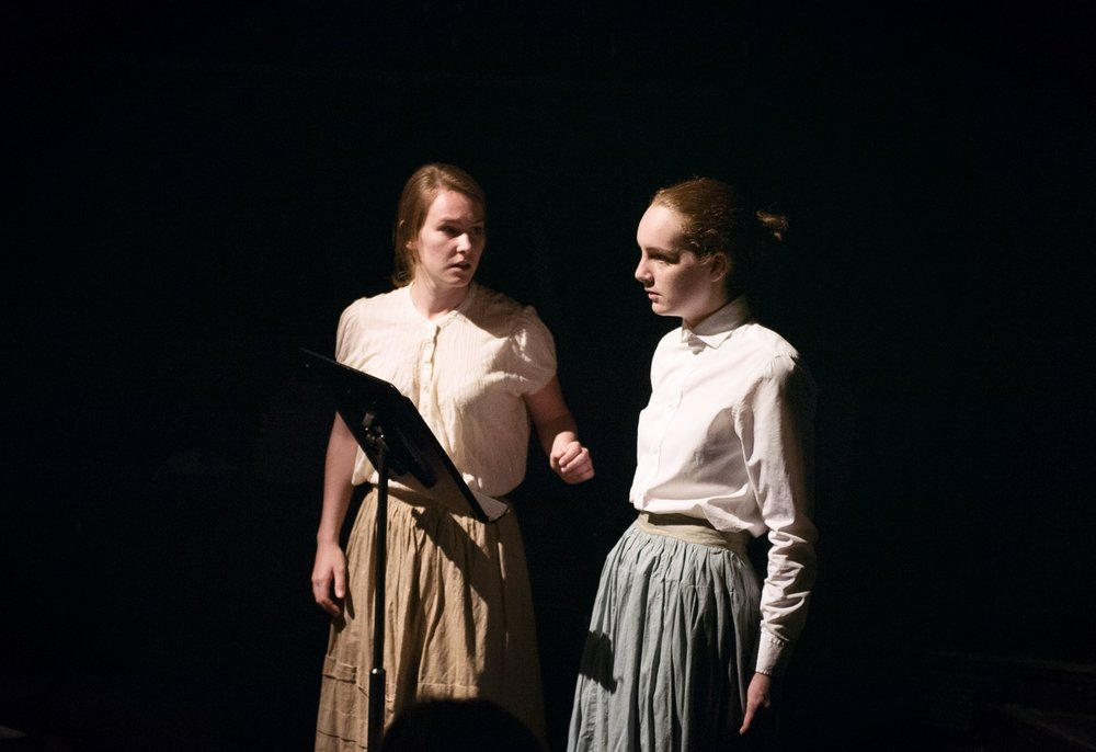 Featured left to right: Julia Dressel, Maggie Baird