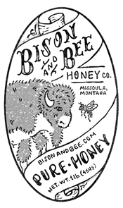 BISON AND BEE