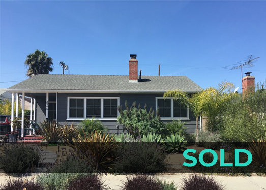 2945 Midvale Ave. | Mar Vista | Sold for $1,010,000 | June 2017