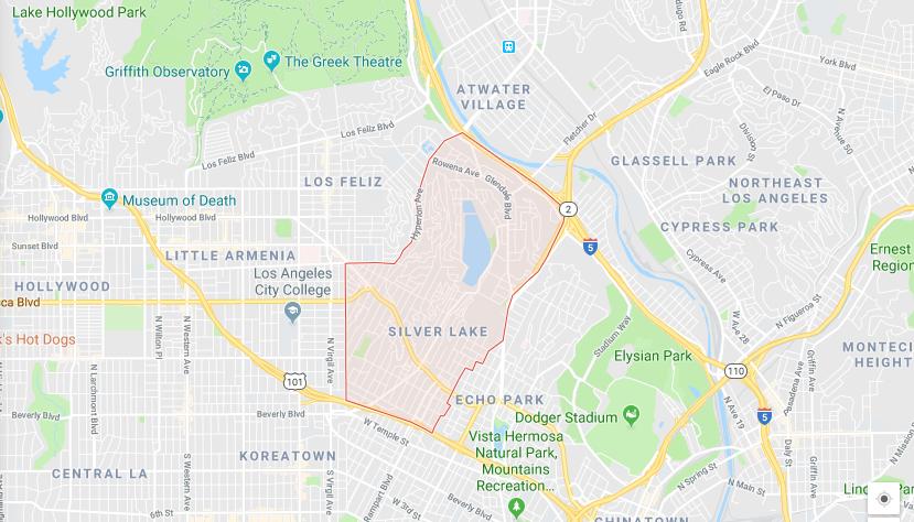 Silverlake Map