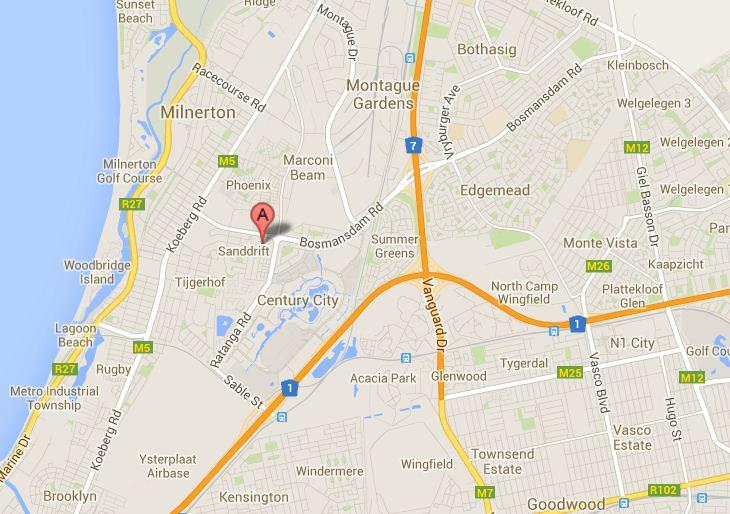Westwood Century City Map