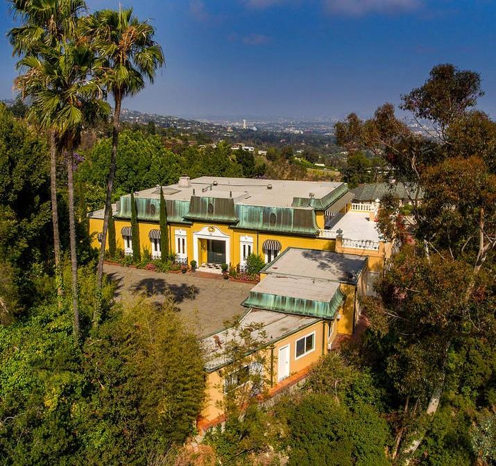 Zsa Zsa's Bel Air Mansion