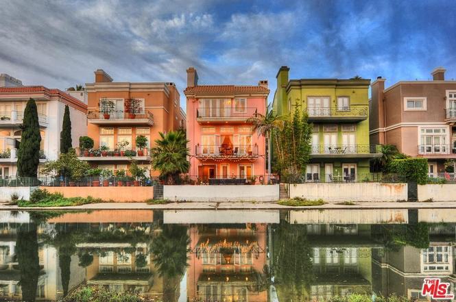 Marina Del Rey Canal Front Mediterranean Villa