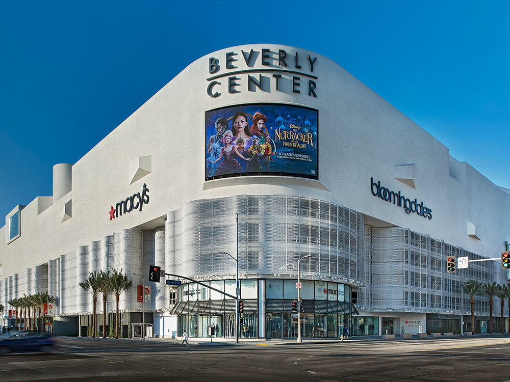 The Beverly Center:  $500m Renovation in 2018