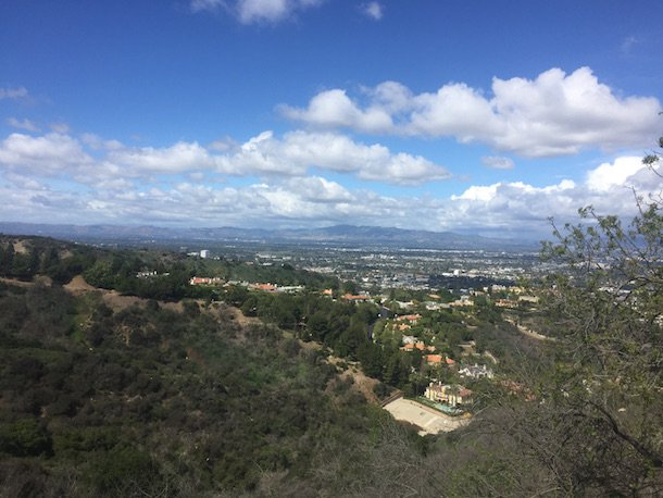 The Valley from Mulholland Drive
