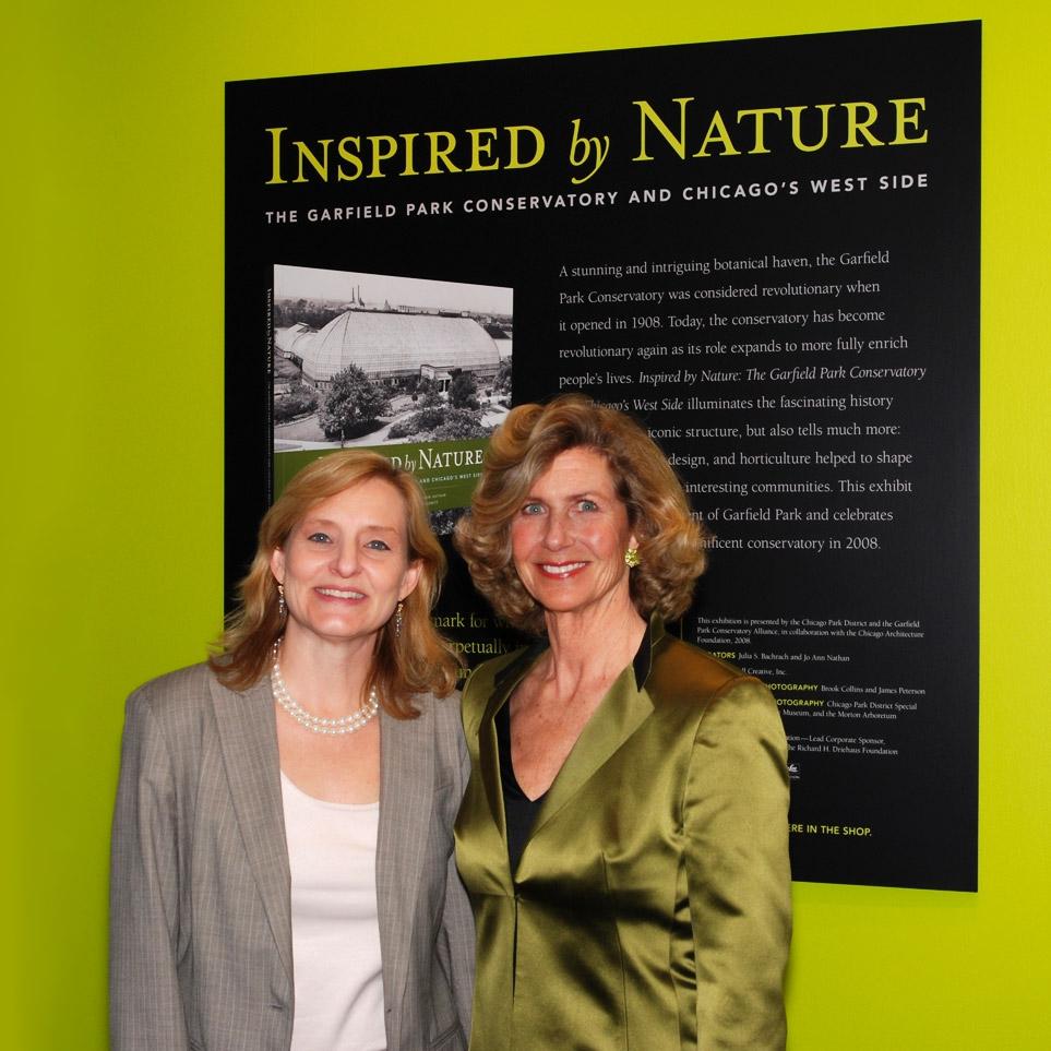 Julia Bachrach and Jo Ann Nathan.