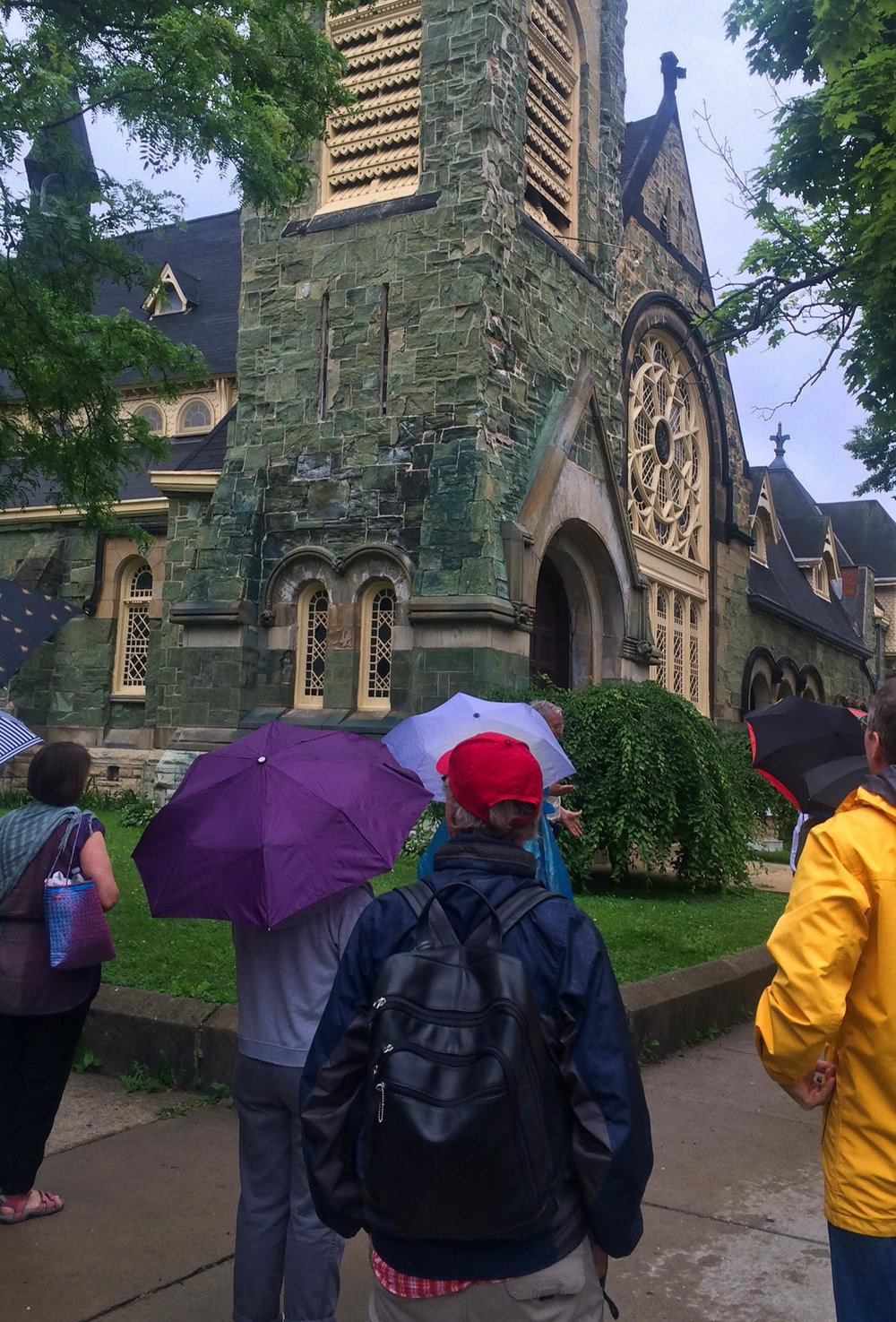 Tour of Chicago's Historic Pullman including the iconic Green Stone Church, 2016.
