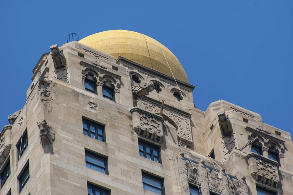 Exterior detail, of Medinah Athletic Club. Photo by Eric Allix Rogers.