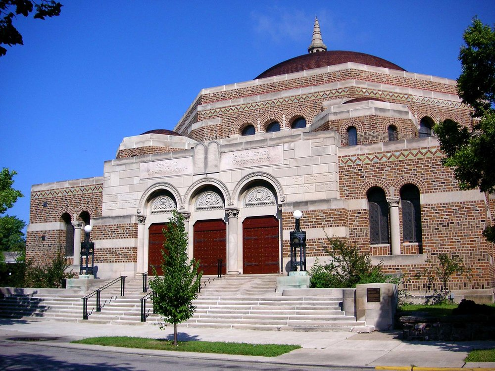 K.A.M. Isaiah Synagogue, 1100 E. Hyde Park Boulevard. Photo by Eric Allix Rogers.