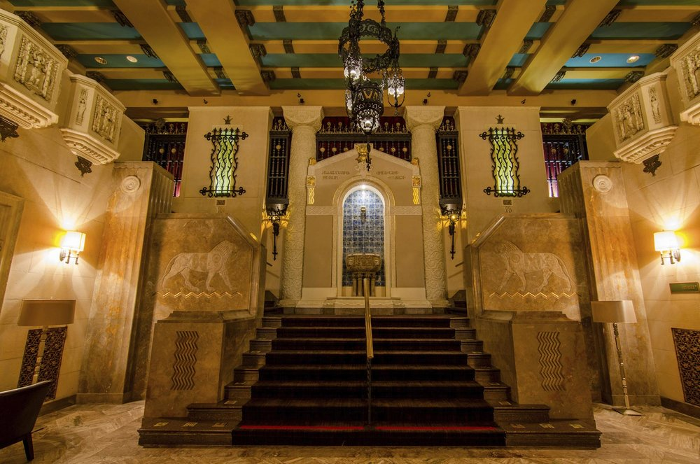 Medinah Athletic Club Interior, 505 N. Michigan Avenue. Photo by Eric Allix Rogers.