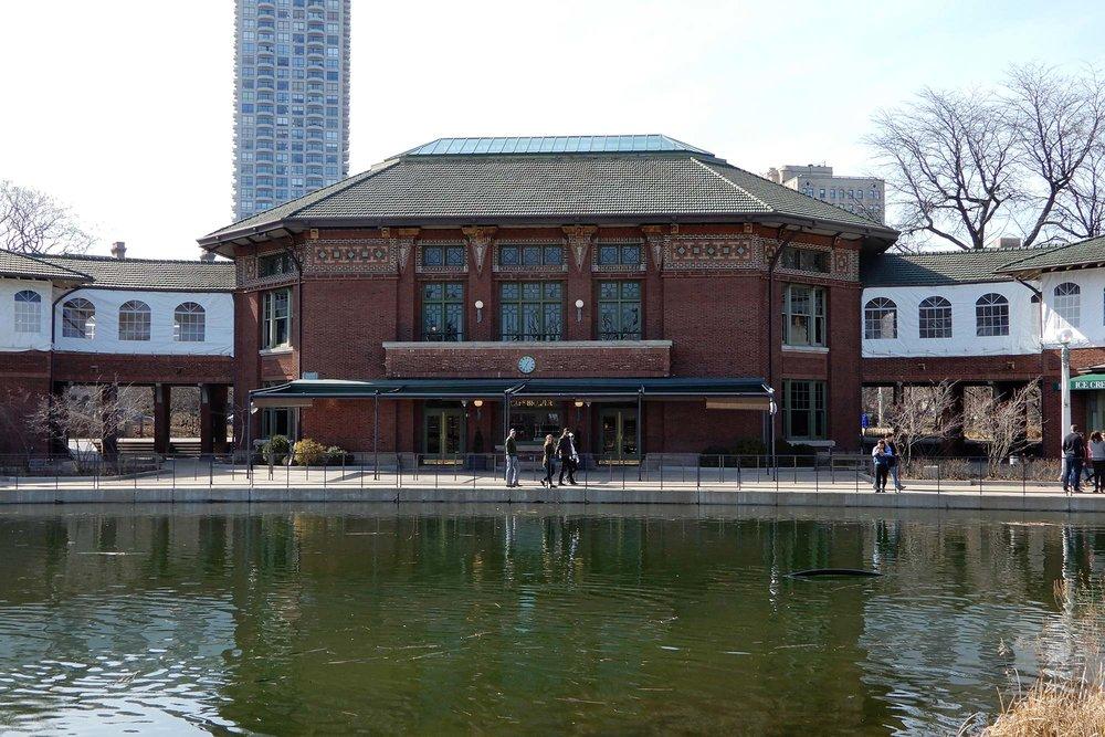 South Pond façade. Photo by Julia Bachrach.
