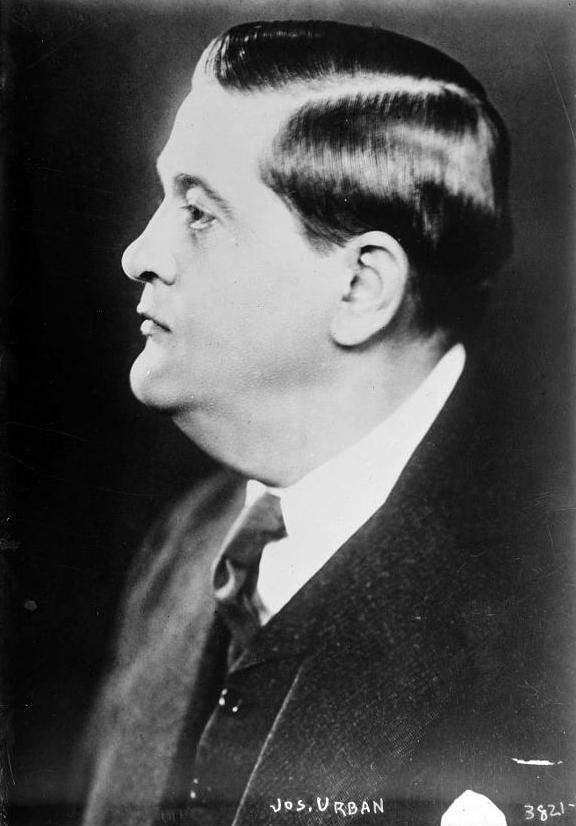 Joseph Urban, ca. 1915, Wikimedia Commons.
