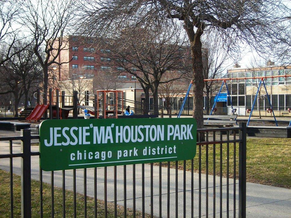 Jessie 'Ma' Houston Park. Photo by Julia Bachrach.