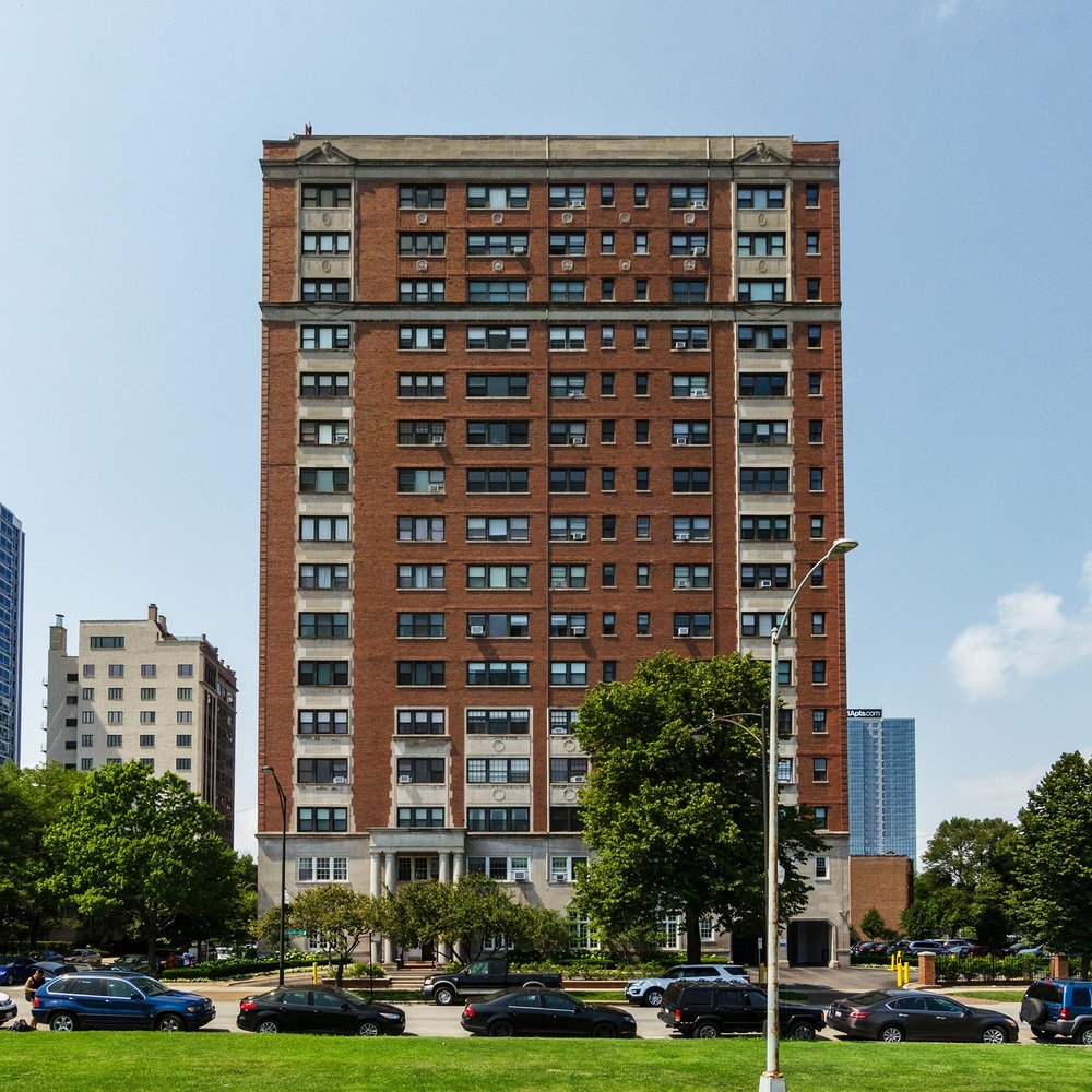 View of building's east facade. Photo by Eric Allix Rogers.