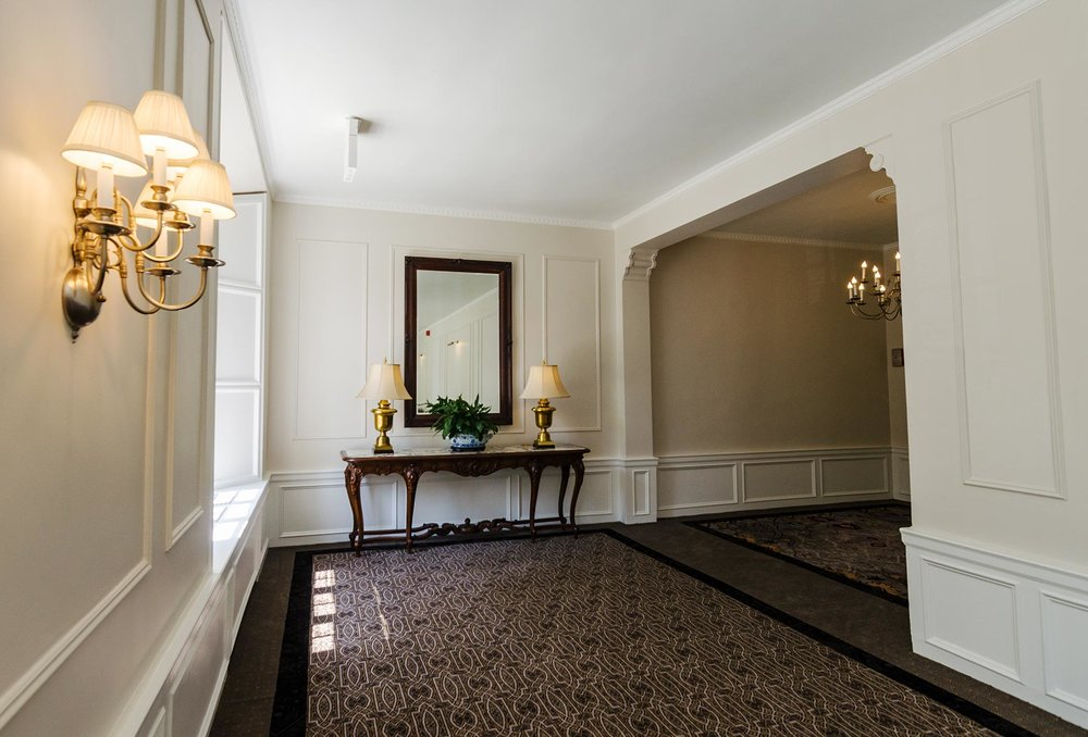 View of hallway. Photo by Eric Allix Rogers.