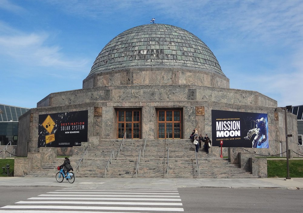 Adler Planetarium. Photo by Julia Bachrach, 2012.