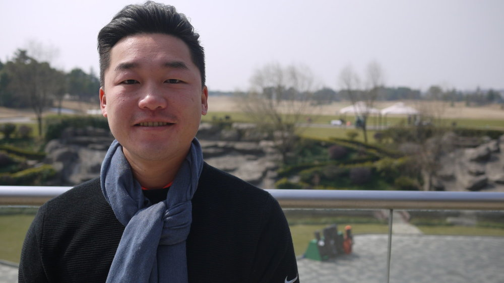 Ozzie Ling, manager of Shanghai's Yingyi Golf Club, says government inspection squads will sometimes visit his club, looking for wayward government officials who might be guests of the club. Rob Schmitz/NPR