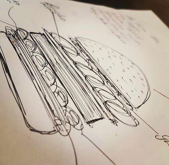 It all starts with an idea 🍔  #Morgansbar #loveleam #wdyt #leamington #leamingtonspa #warwick #warwickuni #cocktails #happyhour #instafood #instagood #foodphotography #masterclass #restaurant23 #hello #bonjour #london #craftbartender #craftcocktails #bar