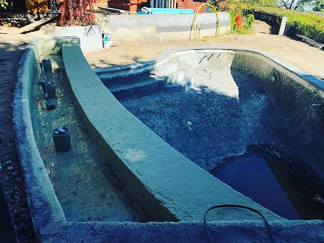 one day this will be a very sexy pool.  #Contractor  #Pool