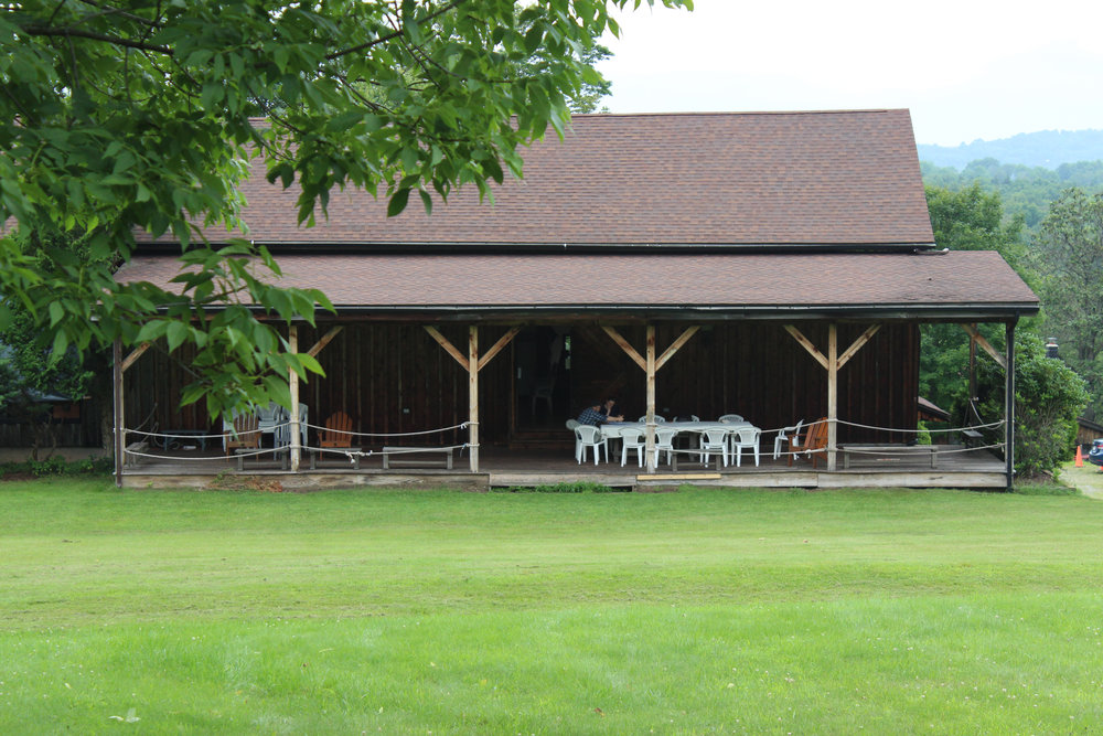 The Eddie Adams Barn, the home of the Weekend of Chamber Music.
