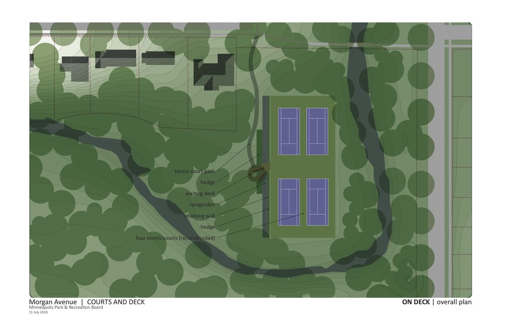 Draft Morgan Courts Plans